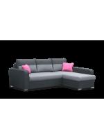 Monza Párnás sarok kanapé