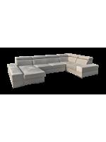 Elemento II. U alakú kanapé