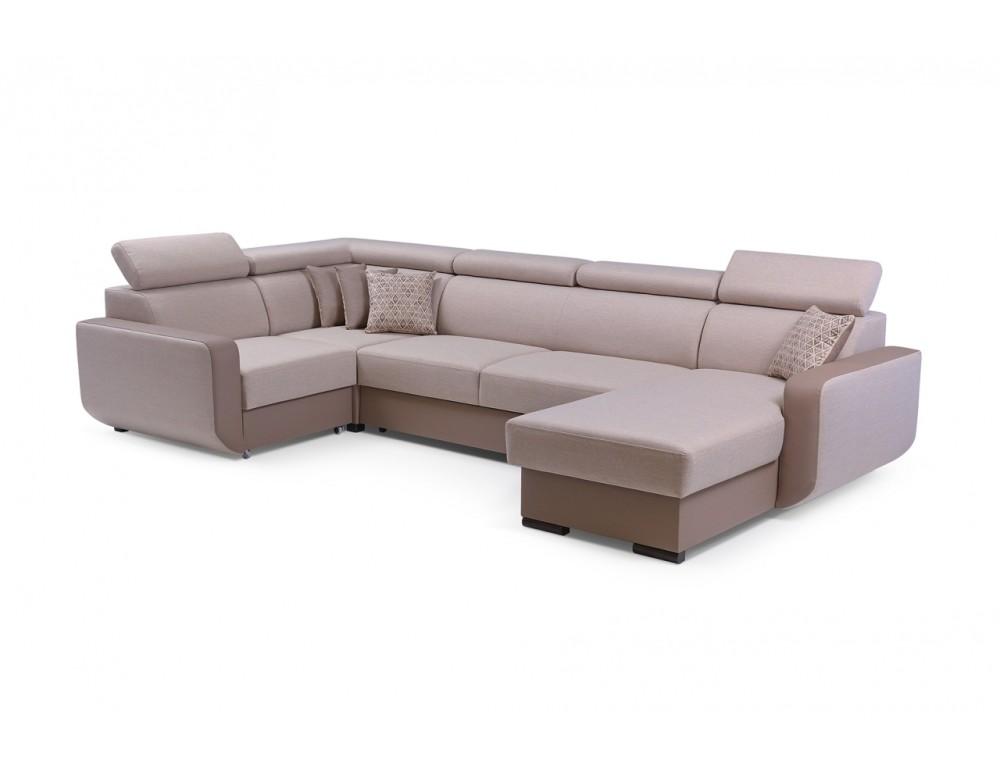 Imperio U alakú kanapé